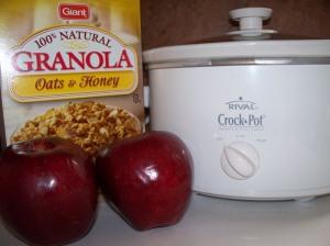 Crockpot Apple Cobbler