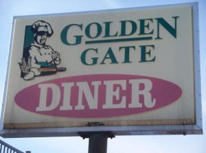 Golden Gate Diner Sign